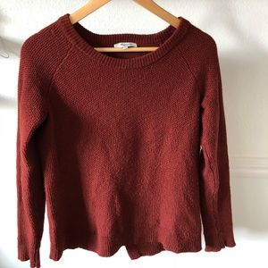 Madewell Province Cross Back Pullover
